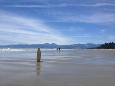 RabbitIsland beach surfeboard