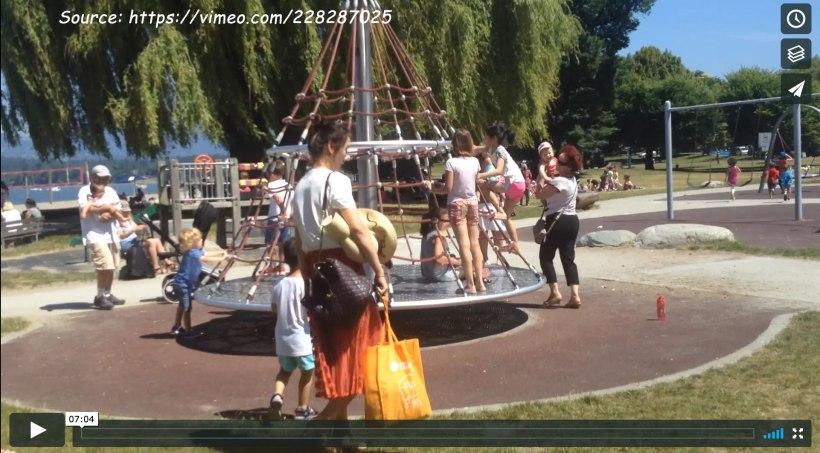 Kits Beach playground feature image