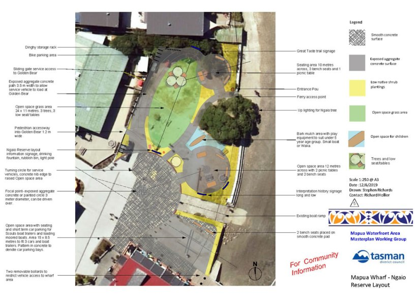 Ngaio Reserve Draft Layout Plan